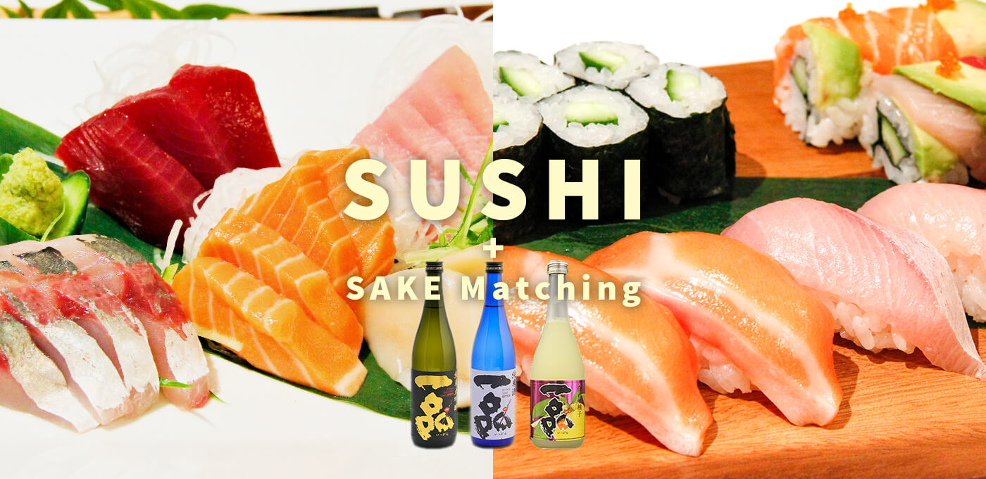 washoku lovers kitchen Sushi and Sake matching