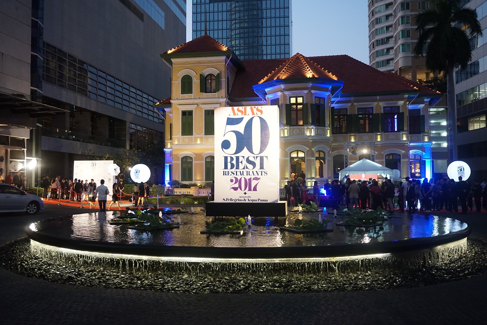 Washoku Was Proudly Invited To The Asia S 50 Best Restaurants 2017 Awards Held In Bangkok Support Anese Chefs And Who Use