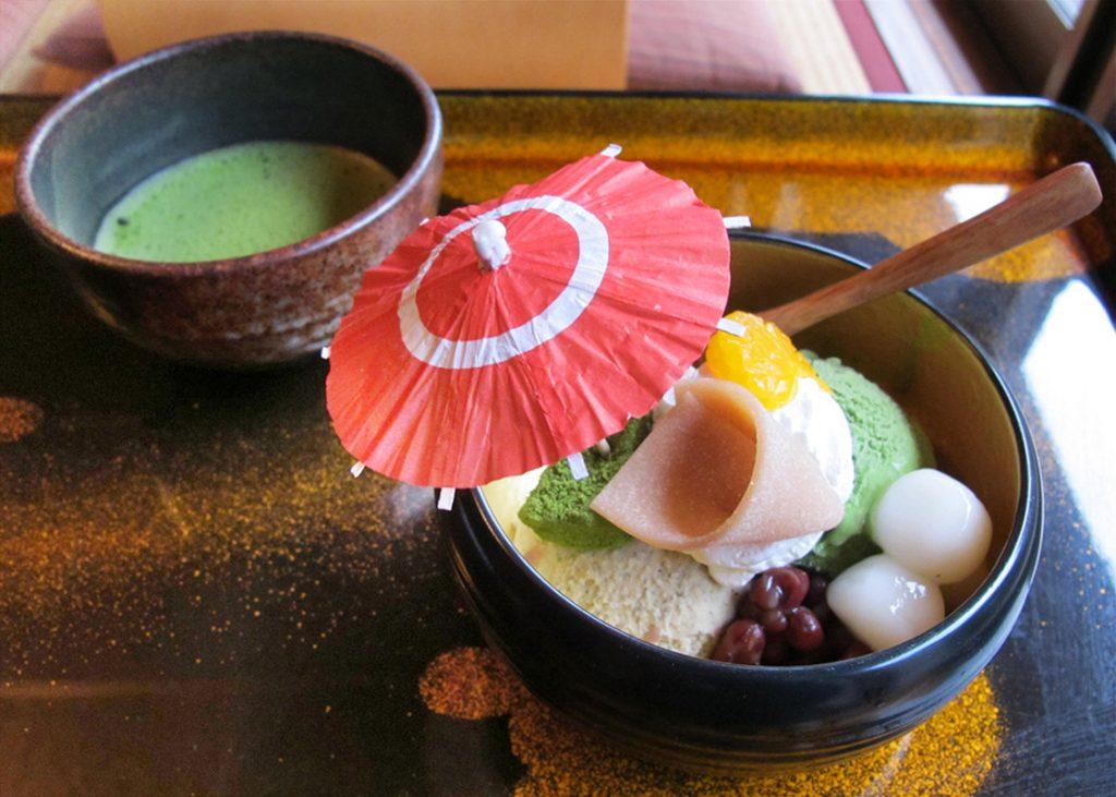 #washoku, washoku lovers, ki-yan, ki-yan's kyoto food & art, sydney food blog, japan, japanese restaurant, sweets, wagashi, ex cafe, arashiyama, japanese art, japanese culture, japanese cuisine, kyoto, kyoto restaurant, Tenryuji Parfait
