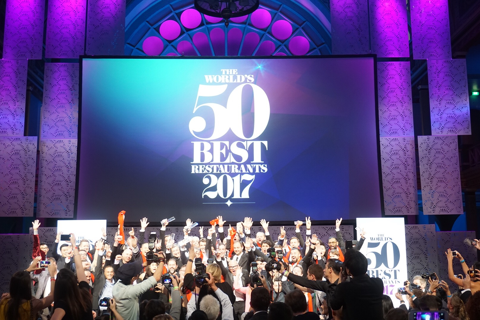 In Melbourne Australia For The Awards Ceremony Had Erflies Their Stomach As They Waited Announcements Of World S 50 Best Restaurants