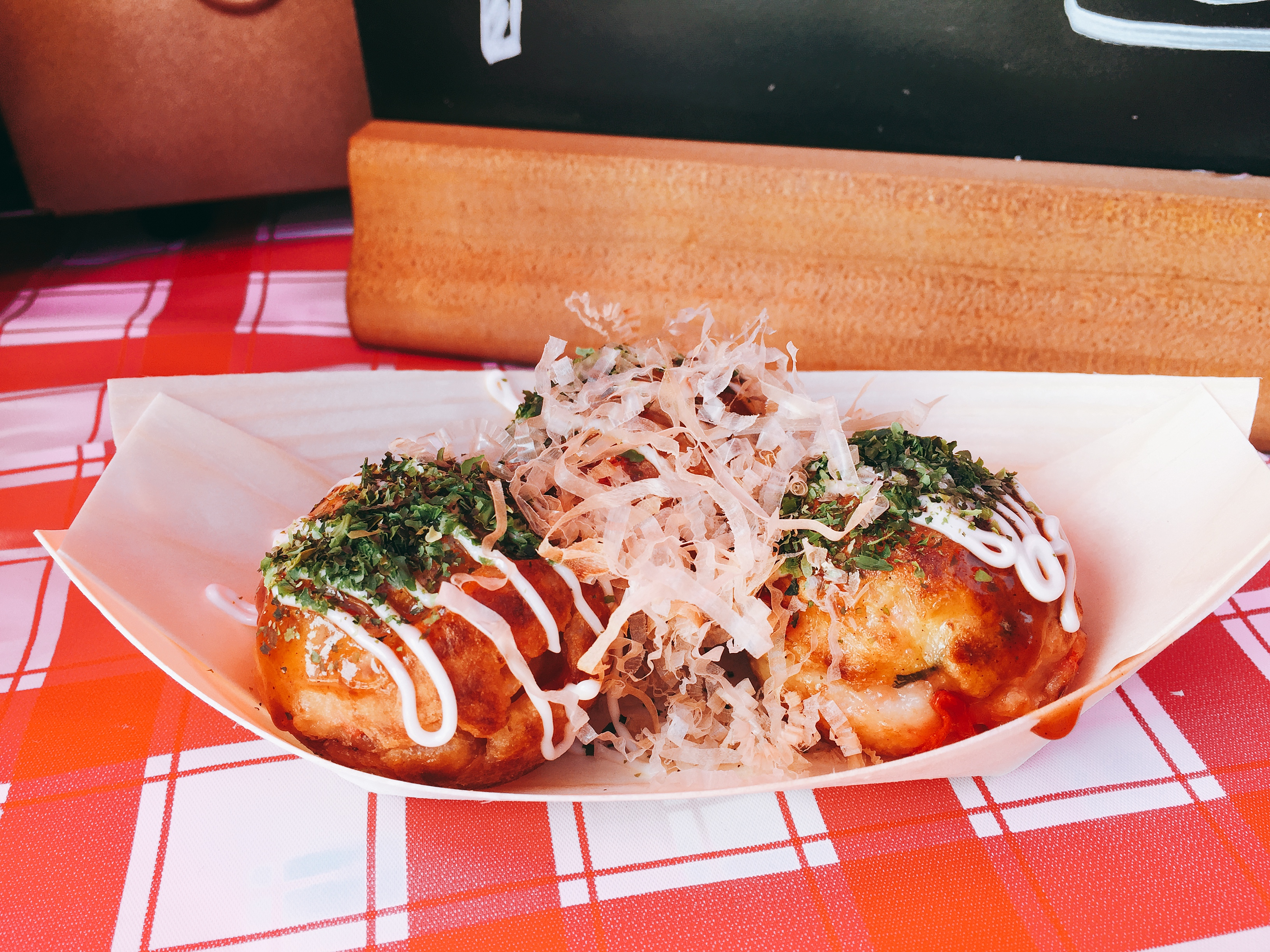 Takoyaki at Kirribilli Market
