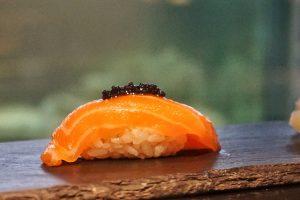 Tasmanian Salmon, caviar.